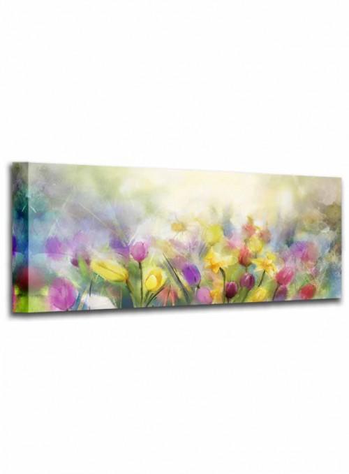 Cuadro Flores 43x90 cm