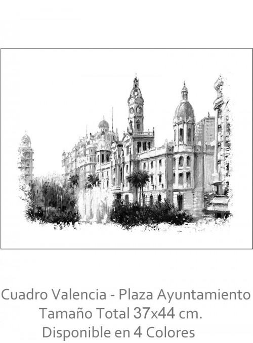 Cuadro Valenciano 37x44 cm....